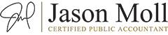 Jason Moll, CPA | Entertainment Business Management Logo